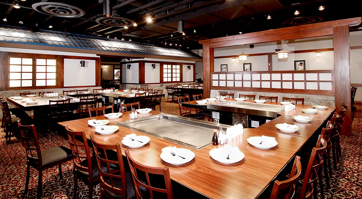 Genji Japanese Steakhouse Retail and Restaurants commercial construction finished picture 1