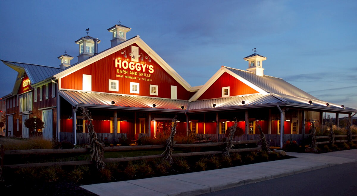 Hoggy's Retail and Restaurants commercial construction finished picture 1