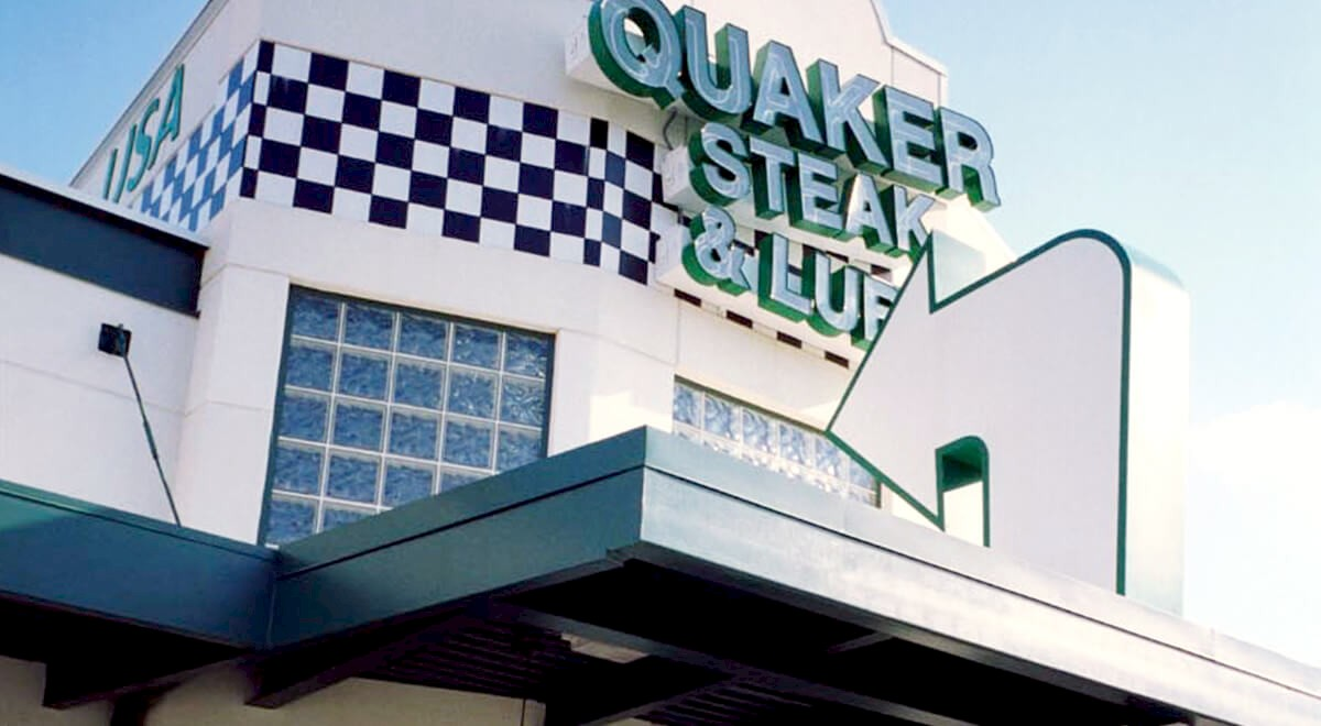Quaker Steak & Lube Retail and Restaurants commercial construction finished picture 2
