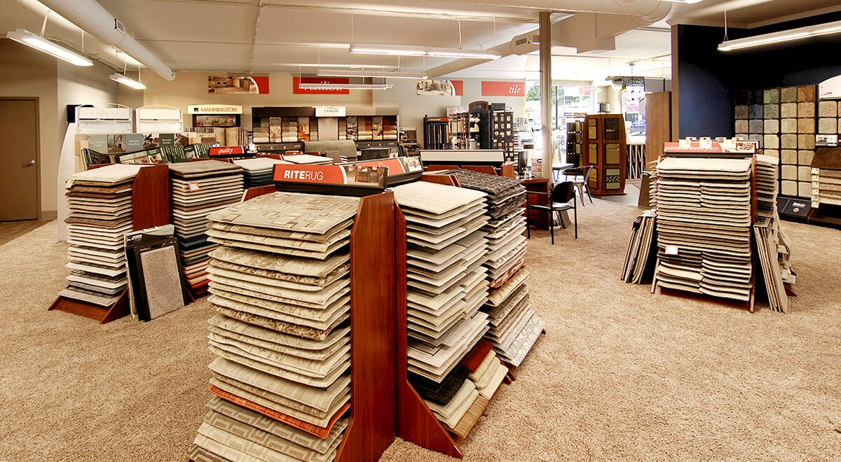 Rite Rug – N. High Street Retail commercial construction finished picture 3