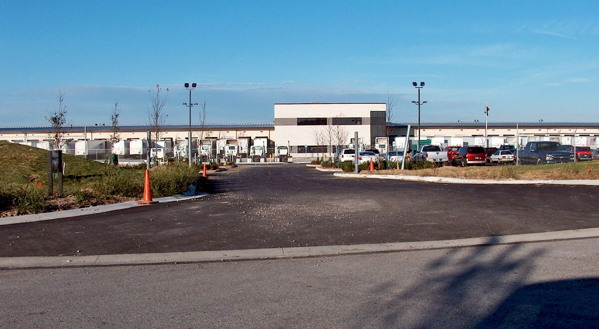 Dayton Freight – Greenwood (Terminal) Transportation commercial construction finished picture