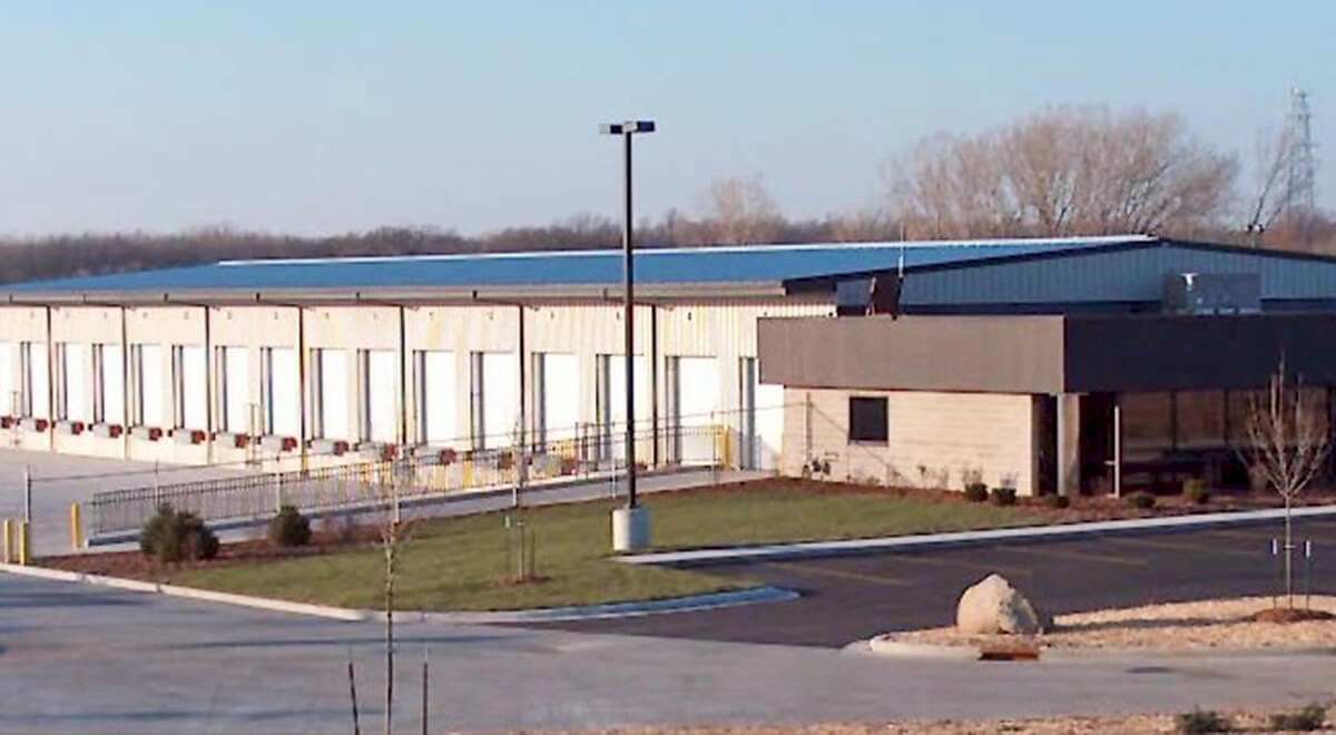 Dayton Freight – Neenah Transportation commercial construction finished picture 2