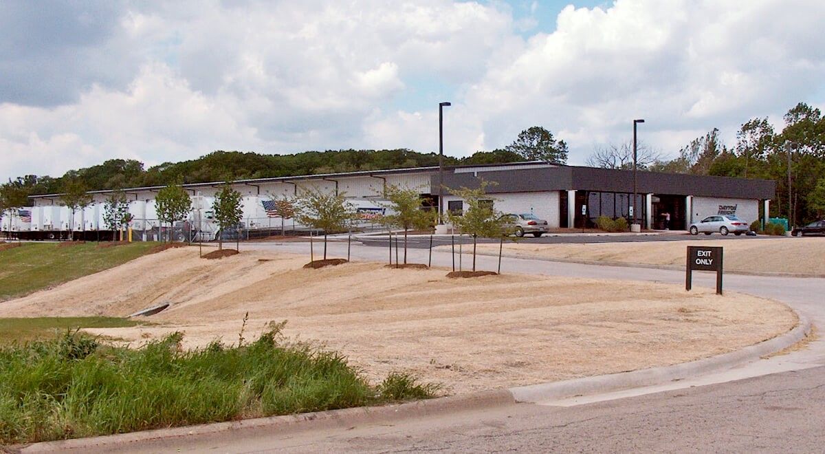Dayton Freight – Rockford Transportation commercial construction finished picture
