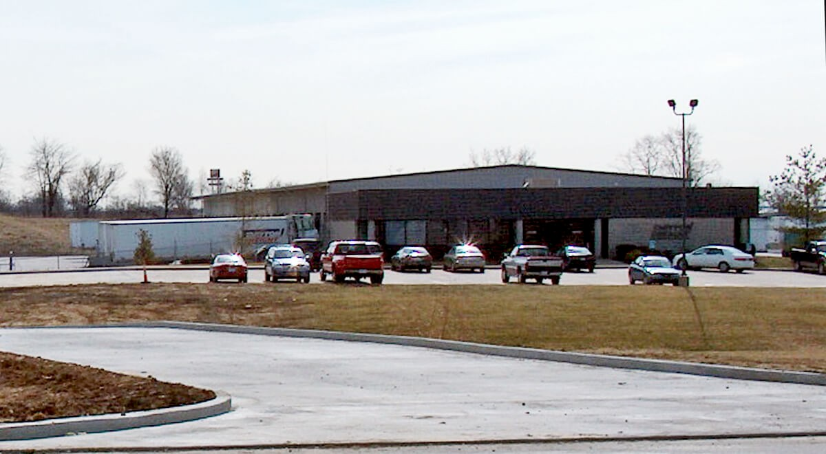 Dayton Freight – Walton Transportation commercial construction finished picture