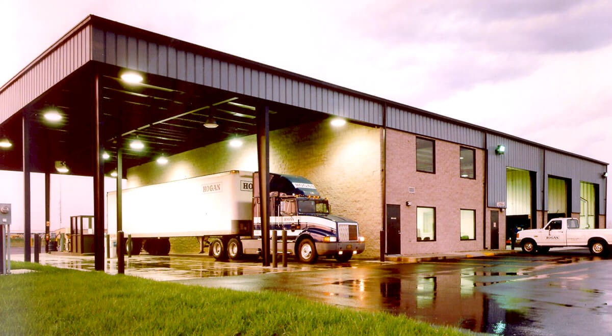 Hogan Transports – Columbus Transportation commercial construction finished picture 1