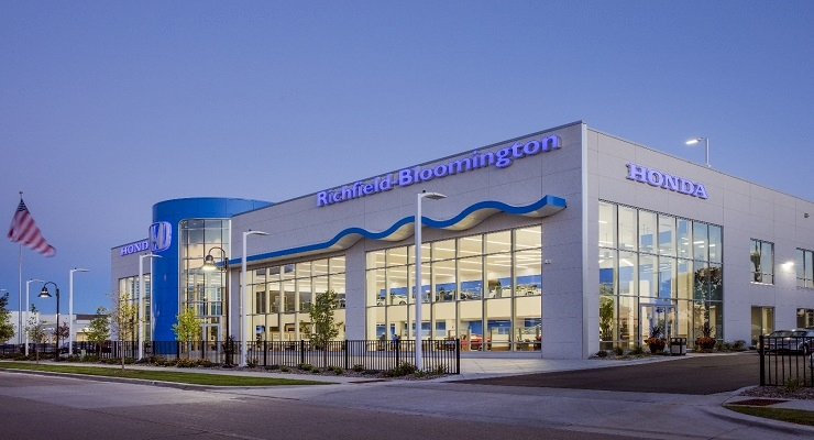 Renier Completes 2nd Largest Honda Dealership in US