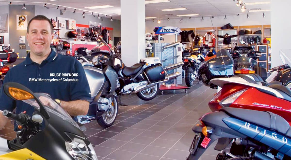BMW Motorcycles of Columbus Retail commercial construction finished picture 4