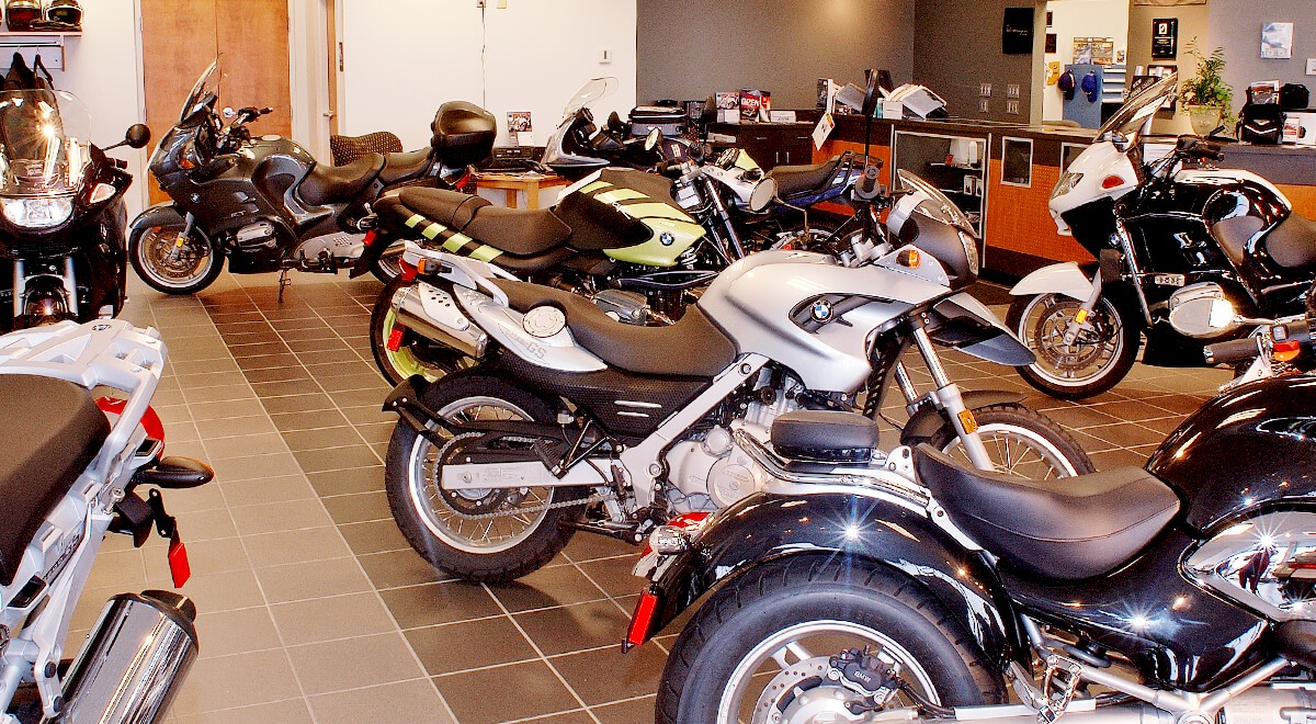 BMW Motorcycles of Columbus Retail commercial construction finished picture 2