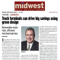 Truck Terminals Can Drive Big Savings Using Green Design
