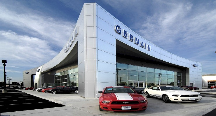 "Germain Unveils ""Re-Newed"" Ford Dealership with Double the Inventory"