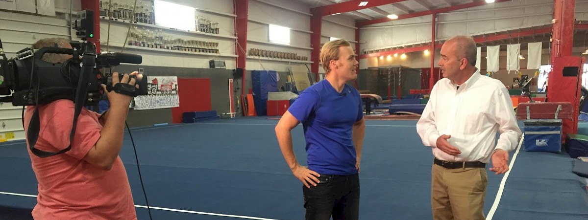 Renier Construction featured on Good Day Columbus for their design-build project with Buckeye Gymnastics