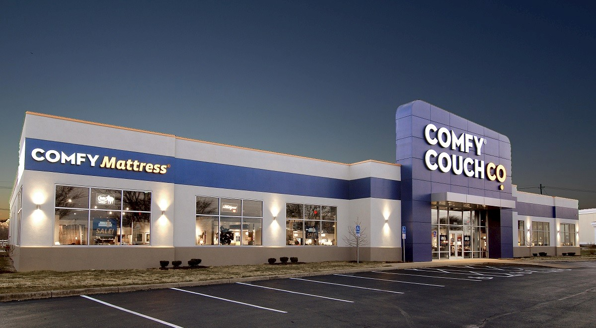 Comfy Couch Co. Retail and Restaurants commercial construction finished picture 11