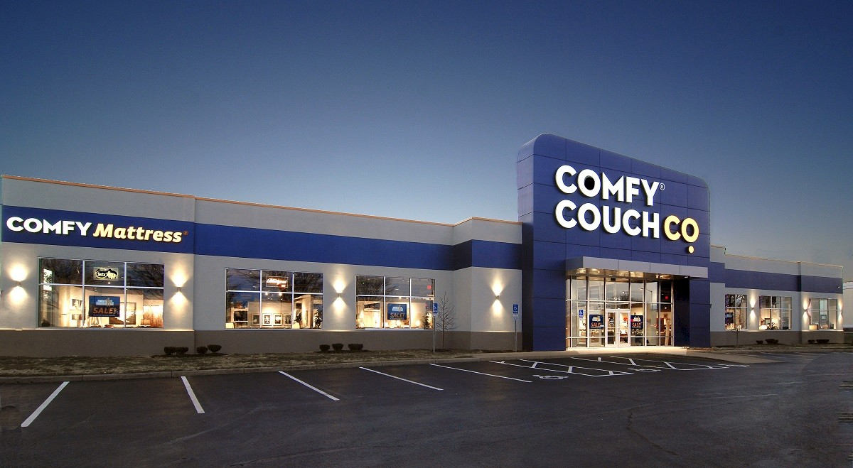 Comfy Couch Co. Retail and Restaurants commercial construction finished picture 10