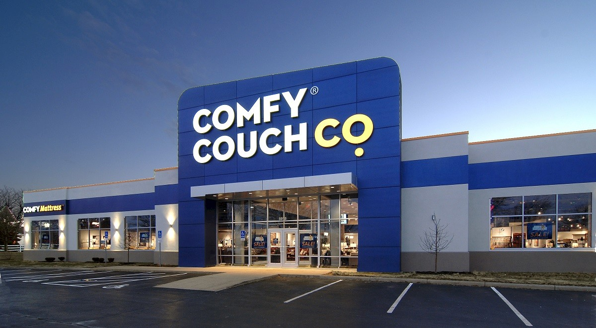 Comfy Couch Co. Retail and Restaurants commercial construction finished picture 1