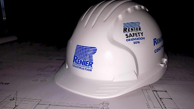 Reiner Construction Commercial Contractors Safety Helmet