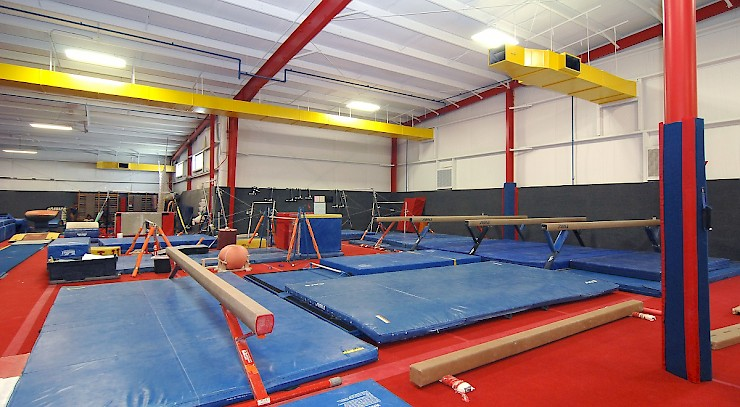 A look inside the expanded Buckeye Gymnastics, where Olympians train
