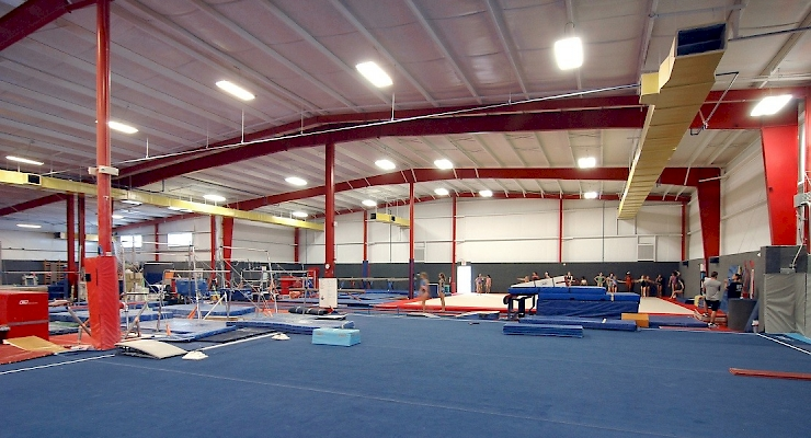 We Build For Olympians! See Where Gabby Douglas Trains