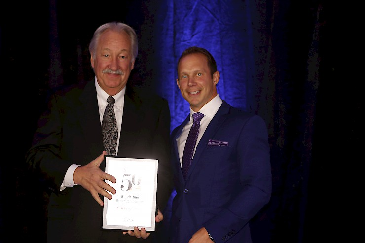 President and Founder of Renier Construction Receives a Smart 50 Award