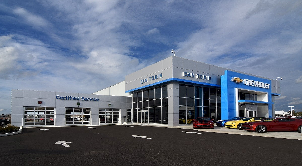 Dan Tobin Chevrolet auto dealership construction finished picture 1