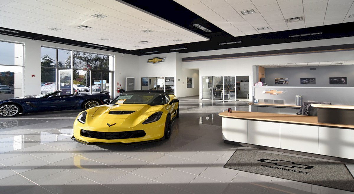 Wetzel Chevrolet auto dealership finished construction picture 3