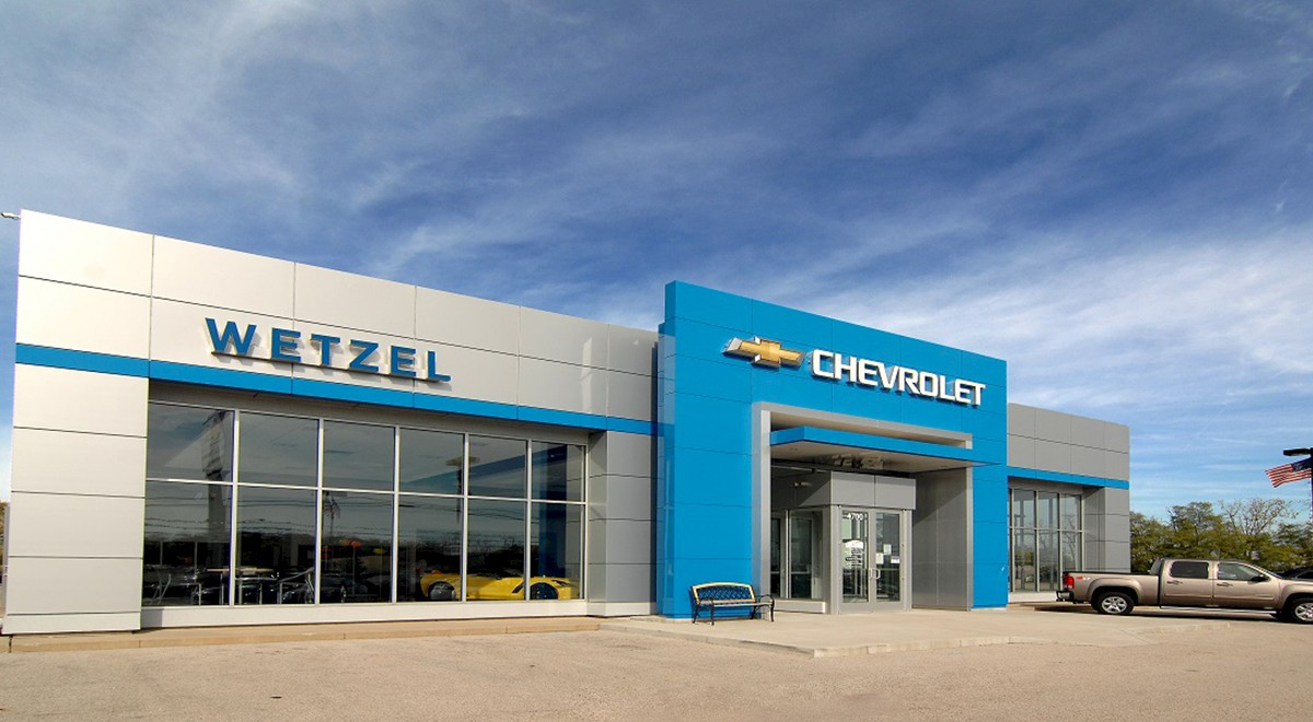 Wetzel Chevrolet auto dealership finished construction picture 1