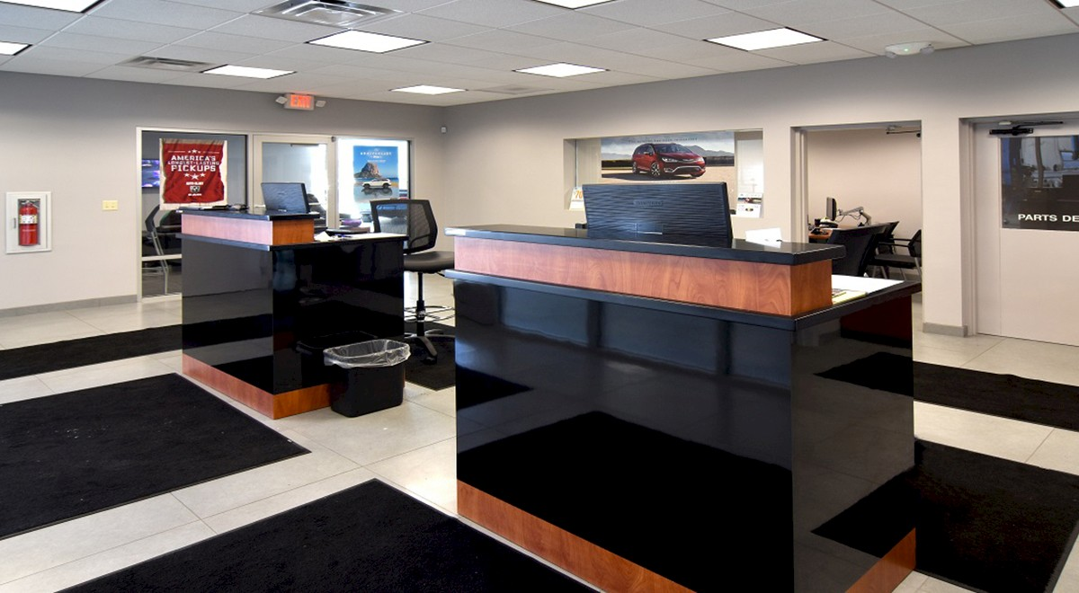Wetzel Chrysler auto dealership finished construction picture 4