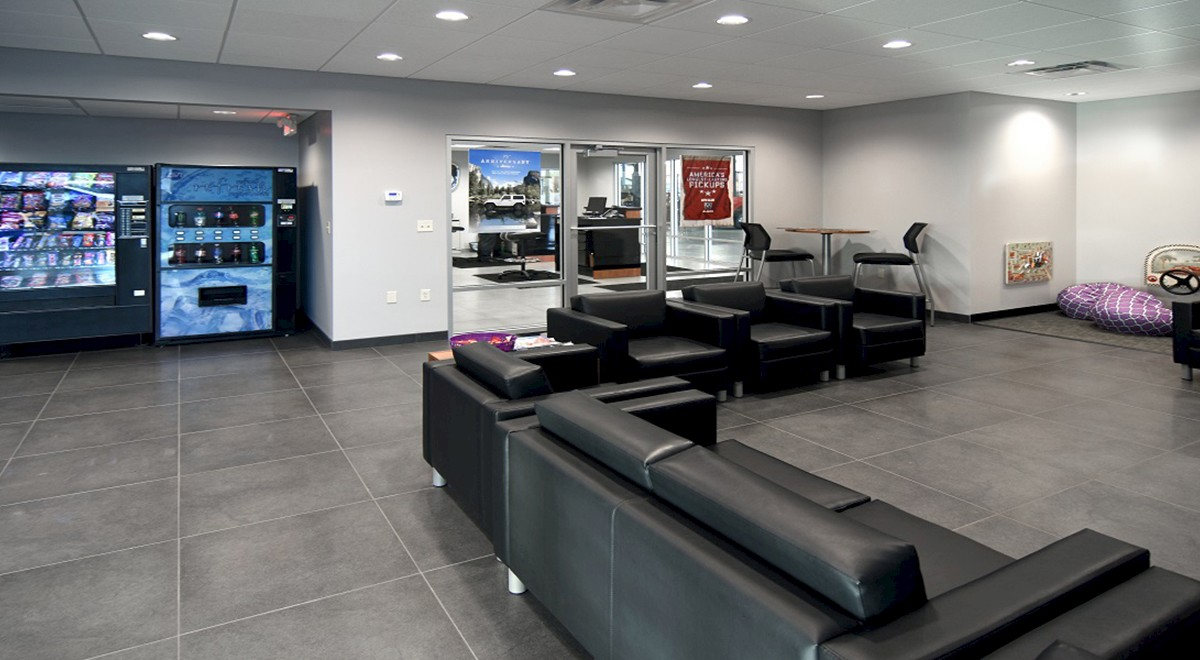 Wetzel Chrysler auto dealership finished construction picture 8