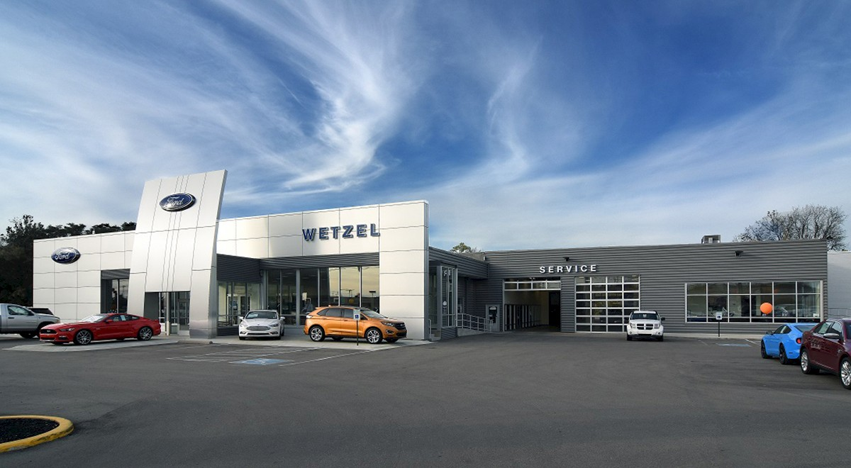 Wetzel Ford auto dealership construction finished picture 1