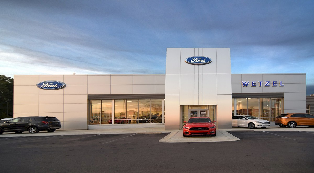 Wetzel Ford auto dealership construction finished picture 5