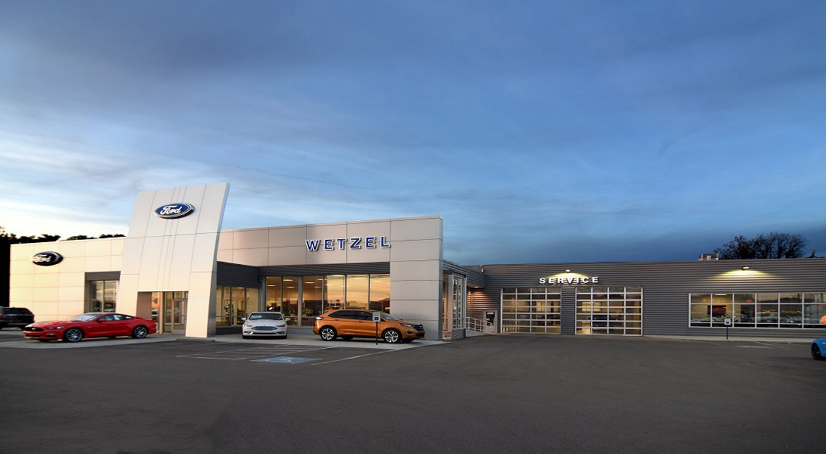 Wetzel Ford auto dealership construction finished picture 3