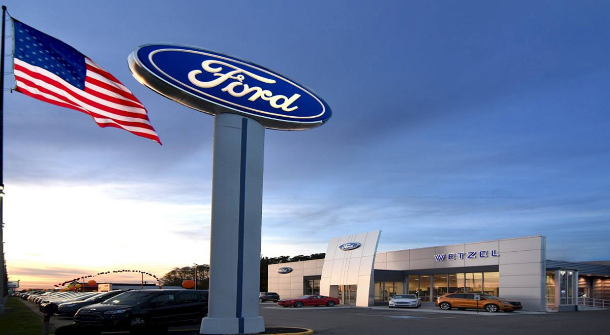 Wetzel Ford auto dealership construction finished picture 4