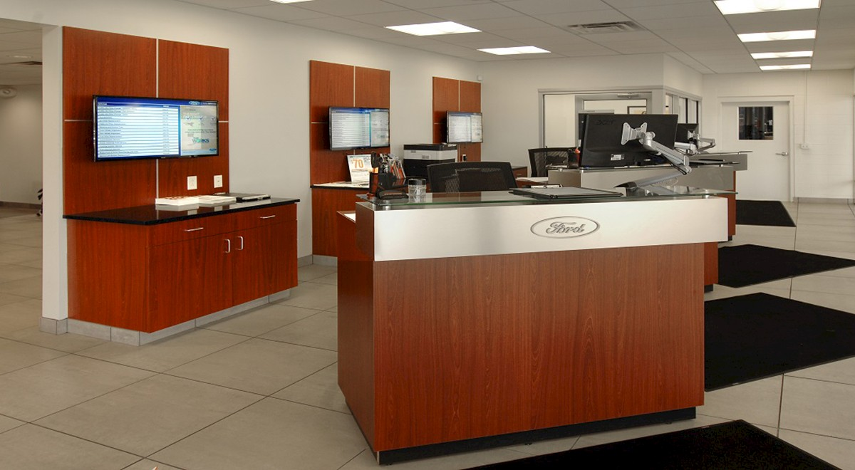 Wetzel Ford auto dealership construction finished picture 10