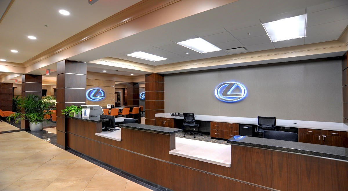 Lexus of Easton Service Center Finished Construction Picture
