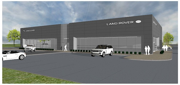 Renier Construction And Germain Motor Company To Break Ground On New Jaguar  Land Rover Dealership At