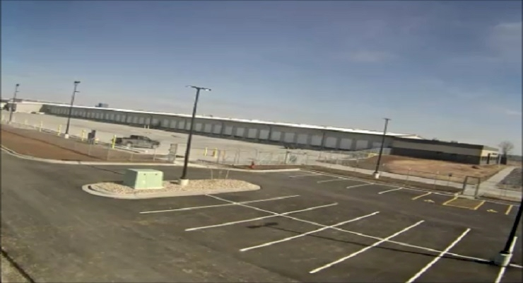 New Dayton Freight Grandview, MO Terminal Construction Time-Lapse Video