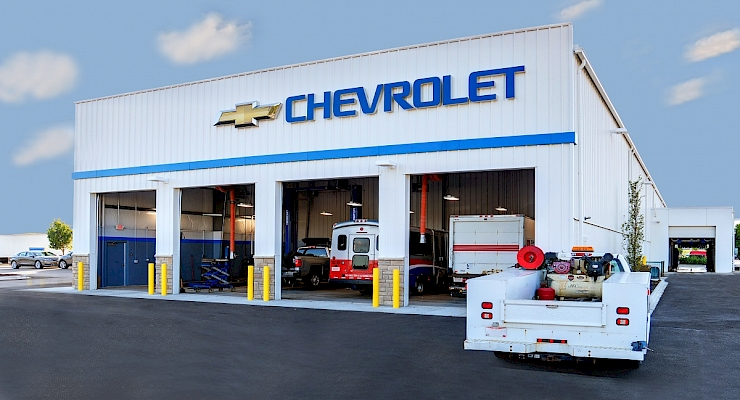 Byers Chevrolet Service: Truck Addition