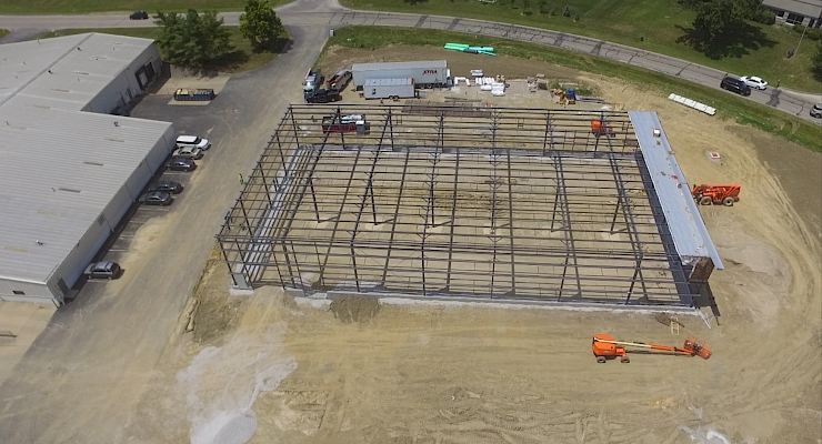 Renier Builds Gilson Company Warehouse Addition