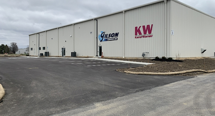 Gilson Company Warehouse Addition