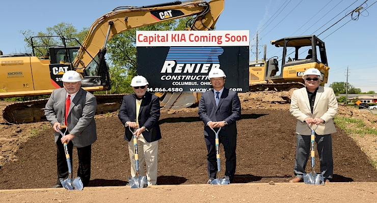 Renier Breaks Ground on Great Lakes Auto Group's first Columbus Dealership