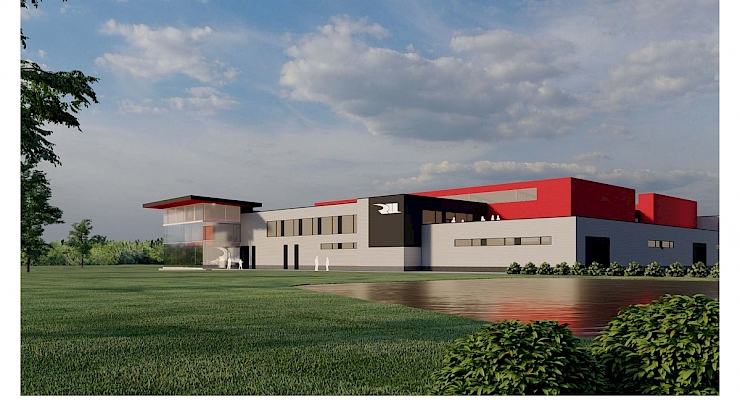 Renier Construction Named Construction Manager for Rahal Letterman Racing Headquarters